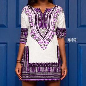 Dresses & Skirts - Dashiki Shirt Dress